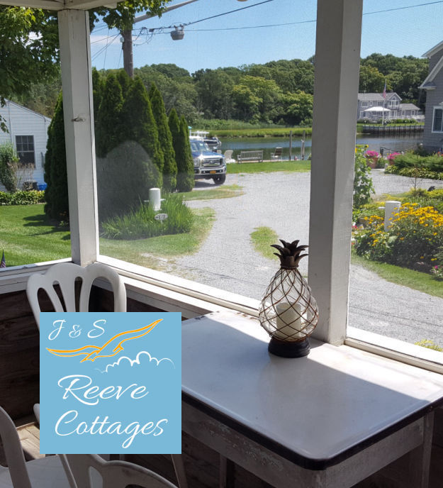 Cozy Waterfront Vacation Rental Cottage 5 Screened-In Porch View